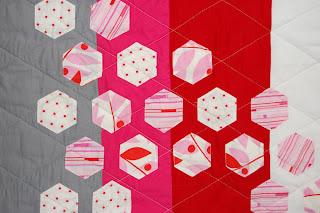 Modern Hexagon Quilt