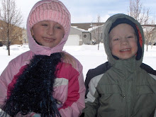 Mallory and Logan in the snow
