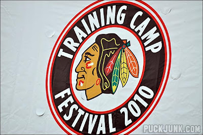 Blackhawks Training Camp Fest 2010