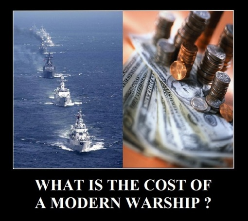 Combat Fleets Of The World: Warships-Cost