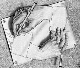 Mãos do Artista - M. C. Escher (Drawing Hands)
