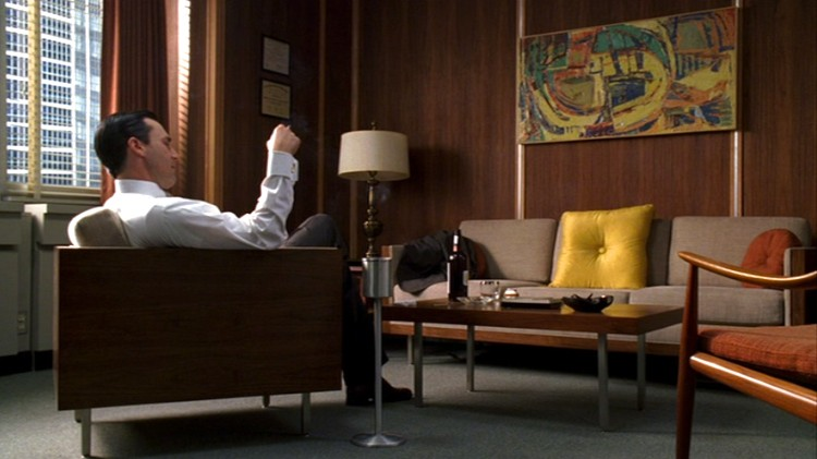 Obliqdesign amazing furniture for mad men - How much do interior designers get paid ...