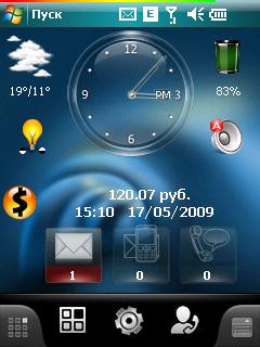 Скин батареи для Spb Mobile Shell 3