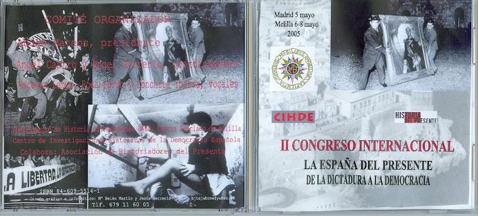 La España del Presente. De la dictadura a la democracia