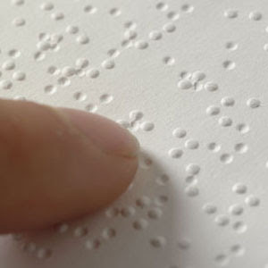 timeline braille braille writer