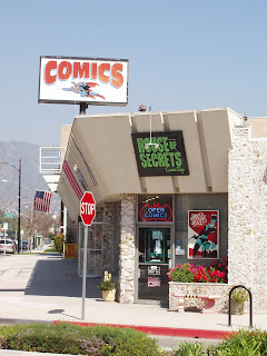 House of Secrets Comic Shop, Burbank