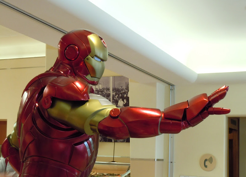 Iron Man 2 suit