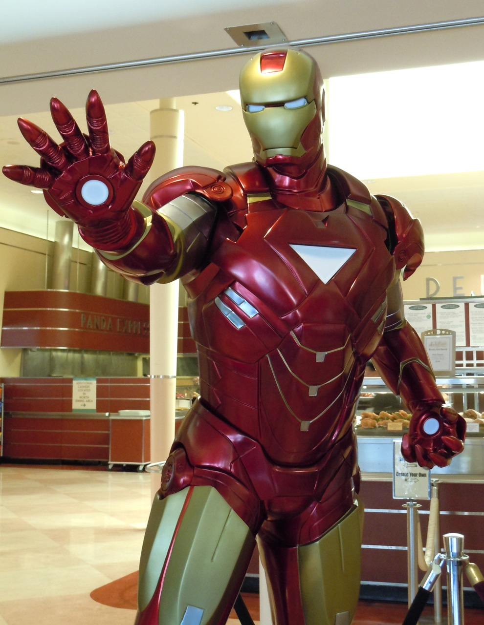 authentic iron man 2 suit. Black Bedroom Furniture Sets. Home Design Ideas