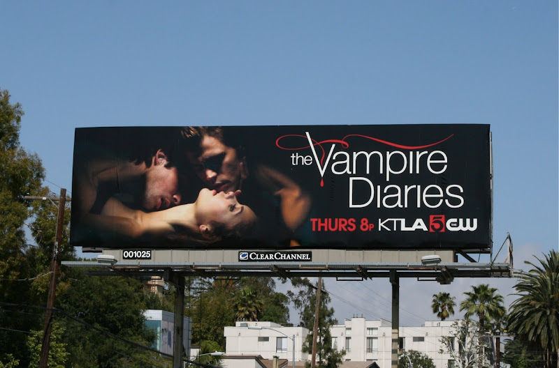 The Vampire Diaries season 2 billboard