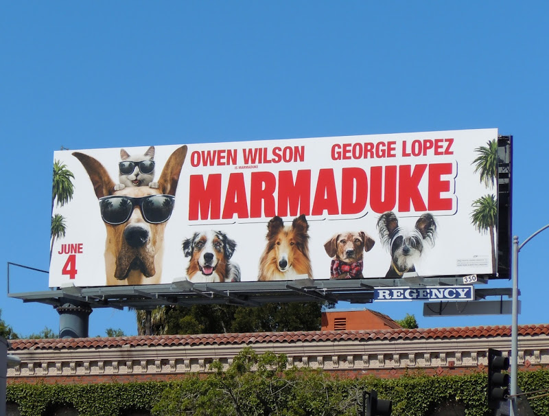 Marmaduke movie billboard