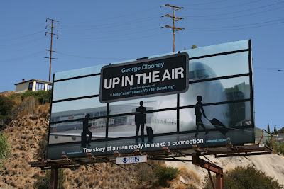 Up in the Air movie billboard