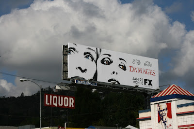Damages TV billboard