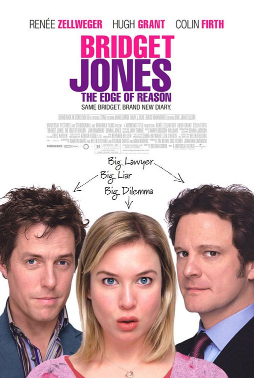 Bridget Jones 2 Edge of Reason poster