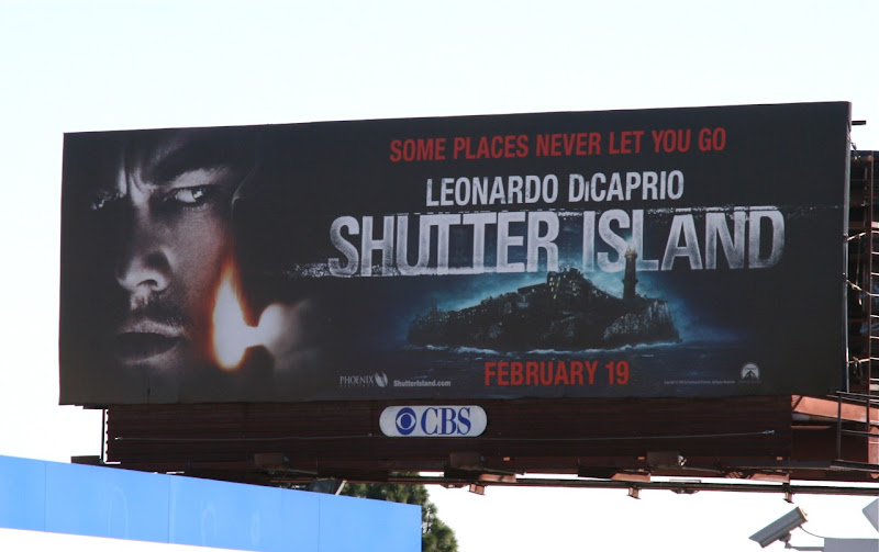 Shutter Island movie billboard