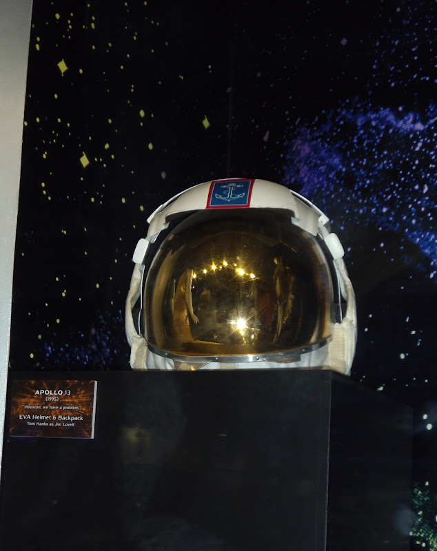 Tom Hanks Apollo 13 NASA EVA helmet