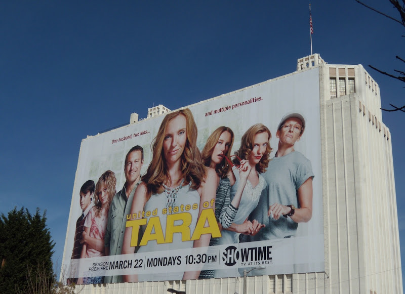 United States of Tara season 2 TV billboard