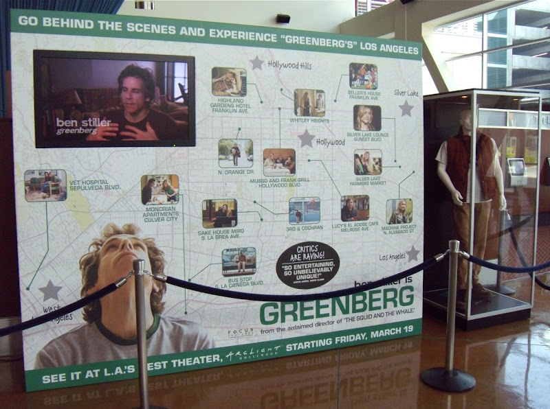 Greenberg movie costume display