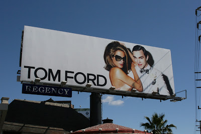 Tom Ford fashion billboard