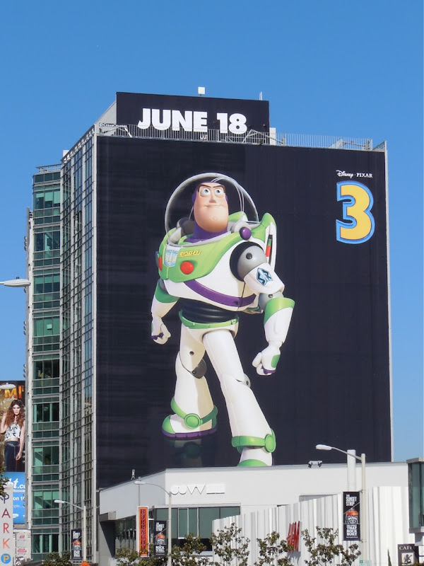Toy Story 3 Buzz Lightyear movie billboard