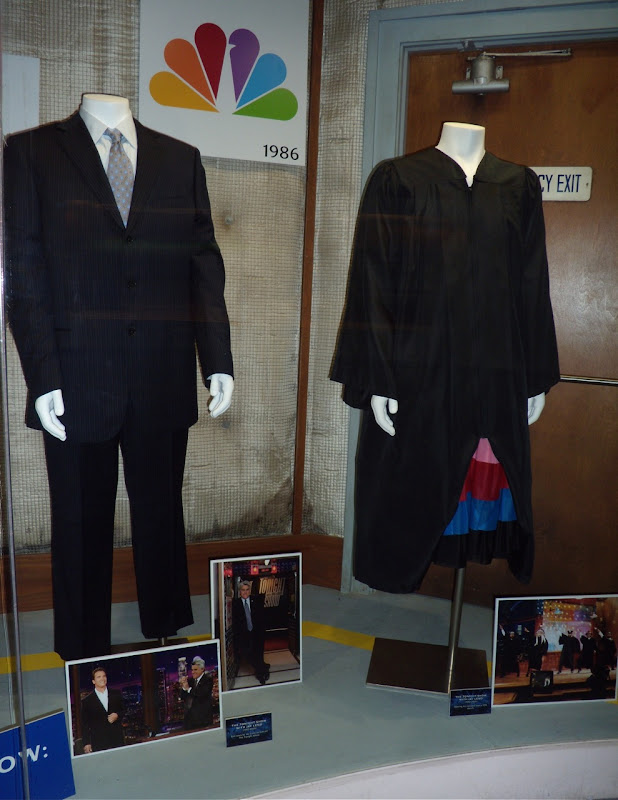 Jay Leno Tonight show suit and sketch costume
