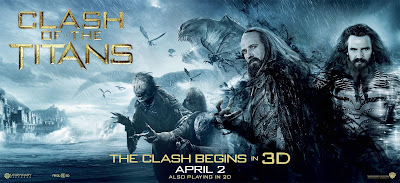 Clash of the Titans gods and monsters poster