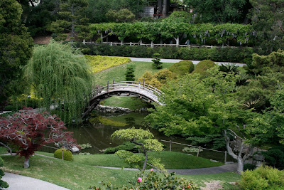 Japanese Garden drum bridge Huntington