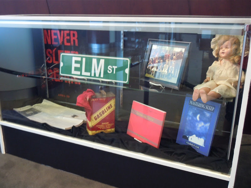 A Nightmare on Elm Street film props