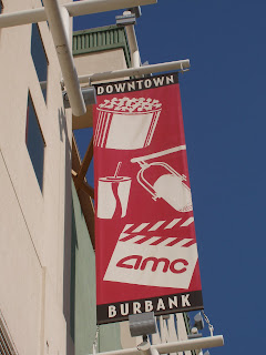 Downtown Burbank AMC cinema banner