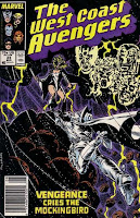 The West Coast Avengers #23 cover
