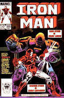 Iron Man comic cover issue 200 with Iron Monger