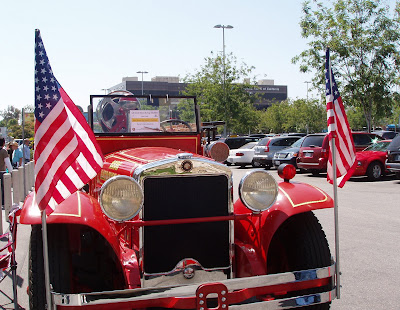 Classic American Cars at The Gilmore Heritage Auto Show