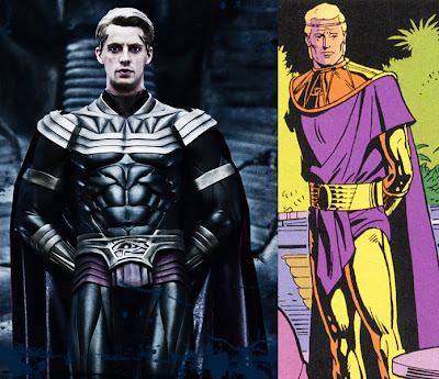Watchmen Ozymandius movie and comic costume