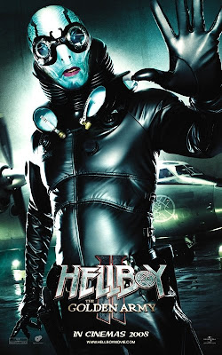 Hellboy II - Abe Sapien movie poster