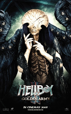 Hellboy II - Angel of Death movie poster