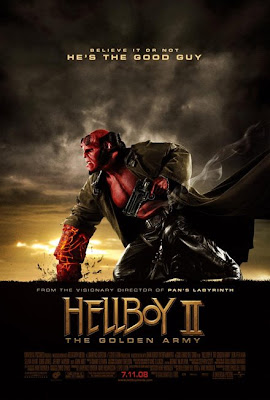 Hellboy II - The Golden Army movie poster