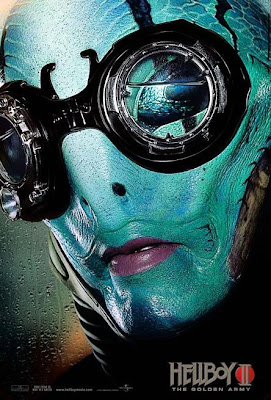 Abe Sapien Hellboy II movie teaser poster