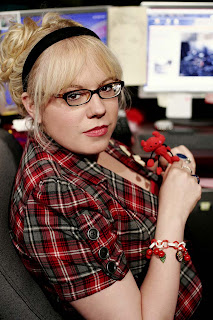 Kirsten Vangsness plays Penelope Garcia, the computer genius in FBI profiler TV show, Criminal Minds