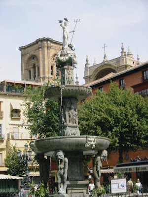Fountain in Granada