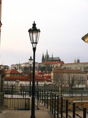 Along the Vltava River in Prague