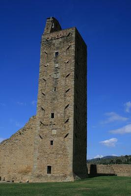 The hilltop fortress of Castiglion Fionrentino