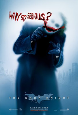 The Dark Knight - The Joker Why so serious? teaser movie poster