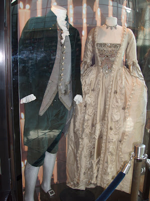 The Duchess film costumes on display