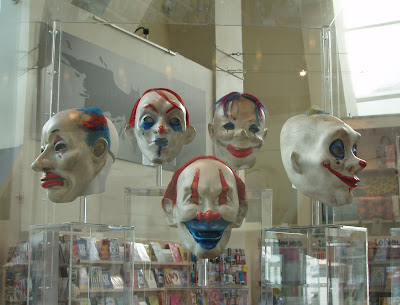Clown gang masks - The Dark Knight movie costumes