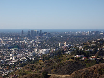 View of Westwood and Century City skyline