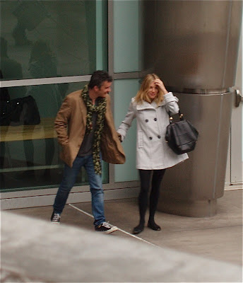 Sienna Miller and Balthazar Getty outside the ArcLight Hollywood