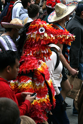 Mexican Pinata Bay to Breakers 2010