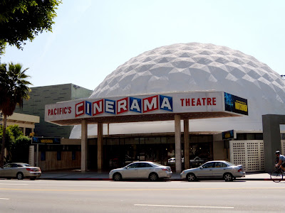 Cinerama Dome on Sunset Blvd, Hollywood