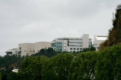 The Getty Center Tram Station view