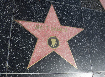 Matt Damon Hollywood Walk of Fame Star