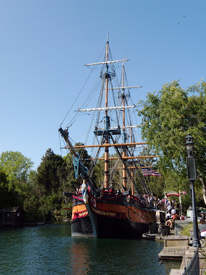 Sailing Ship Columbia at Disneyland